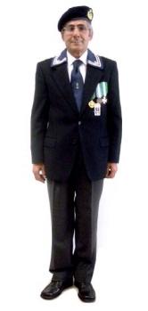 La divisa sociale da cerimonia con medaglie ANMI